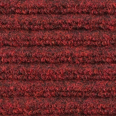 Apache Mills - Ribbed Entrance Mat, 3' x 10' - Red