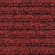 Apache Mills - Ribbed Entrance Mat, 4' x 6' - Red