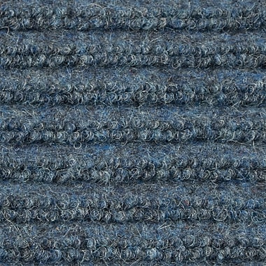 Apache Mills - Ribbed Entrance Mat, 4' x 8' - Blue