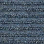 Apache Mills - Ribbed Entrance Mat, 3' x 10' - Blue