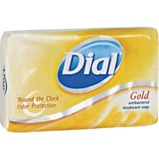 Dial® 02401 Antibacterial Deodorant Bar Soap, 4 oz.