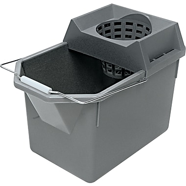Rubbermaid® 6194STL Pail/Strainer Combination, 15 qt
