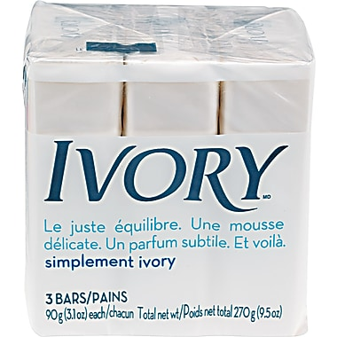 Ivory Soap Bath Bar, 3.1 oz.