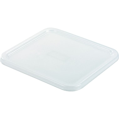 Rubbermaid® 6509 Square Storage Container Lid, 8 3/4in.(L) x 8.3in.(W), White