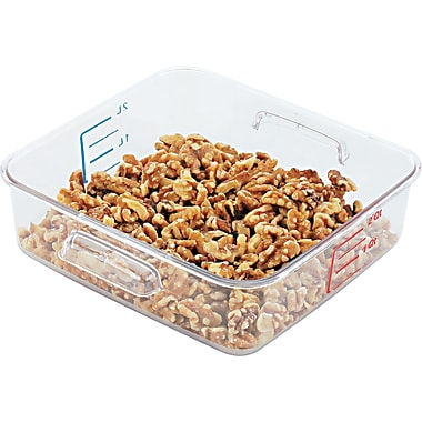 Rubbermaid® 6302 Square Container, 2 qt, 8 3/4
