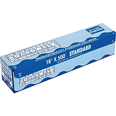 Boardwalk® Standard Aluminum Foil Roll, 500 ft L x 12