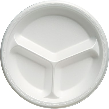 Genpak® Celebrity Dinnerware Compartment Plate, 43 1/5in. x 12in. x 12in.