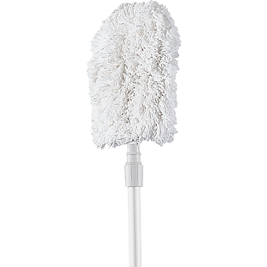 Rubbermaid® T499 White Bristle, Dust Mitt, 9in.(W) x 11in.(L)