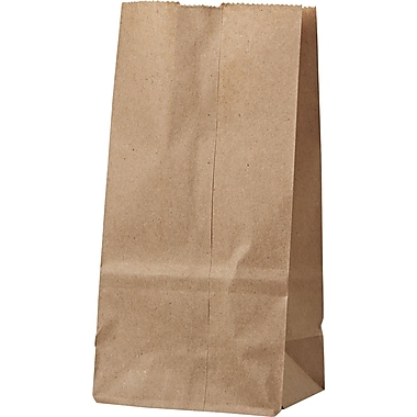 8-60lb Grocery Bag, Kraft