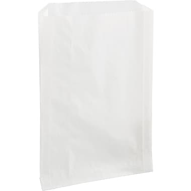 Boardwalk® Grease-resistant Sandwich Bag, 8in. H x 6 1/2in. W x 1in. D