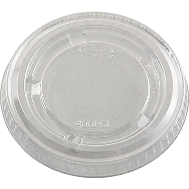 Conex® Portion Container Lid, Clear, For 3 1/4 oz, 4 oz, 5 1/2 oz Container