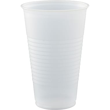 Conex® Plastic Cup, Translucent, 16 oz