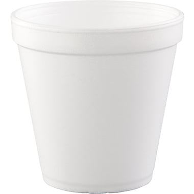 Dart® Food Container, 4 1/10in. H x 4 1/5in. Top dia x 2 2/3in. Base dia
