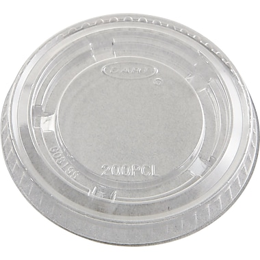 Conex® Portion Container Lid, Clear, For 1 1/2 oz, 2 oz Container