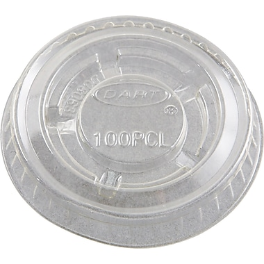 Conex® Portion Container Lid, Clear, For 1/2 oz, 3/4 oz, 1 oz, 1 1/4 oz Container