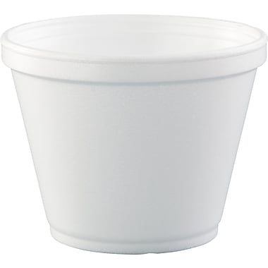 Dart® J20 Foam Food Container, White, 12 oz., 5000/Case