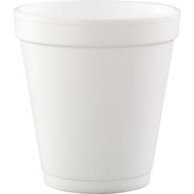 Conex® Small Drink Cup, White, 10 oz