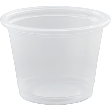 Dart® Conex® Complements® 2500/Case Clear Portion Containers