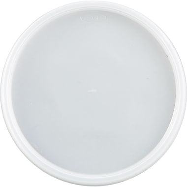 Dart® Plastic Lid, Translucent, For 24 - 32 oz Foam Cups