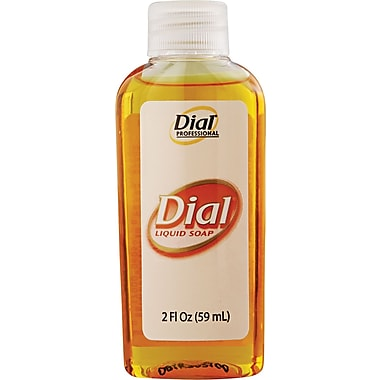 Dial® Liquid Antimicrobial Soap, 2 oz.