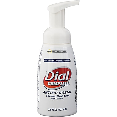 Dial Complete® 81075 Antimicrobial Foaming Hand Soap, 7.5 oz.