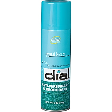 Dial® 00886 Anti-Perspirant and Deodorant, 6 oz.