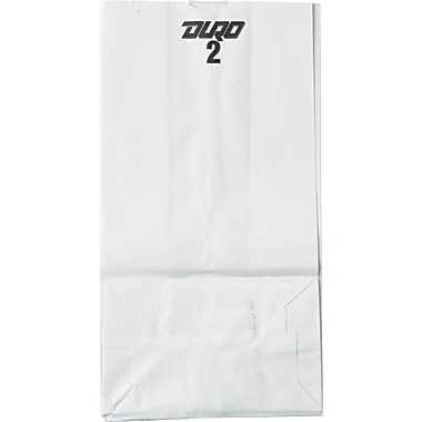 Duro Bag GW Series Kraft Paper Grocery Bag, Brown, 2 lbs.