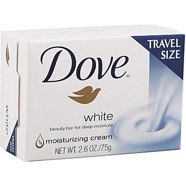 Diversey® Dove® CB126811 Bar Soap With Moisturizing Lotion, White, 2.6 oz.
