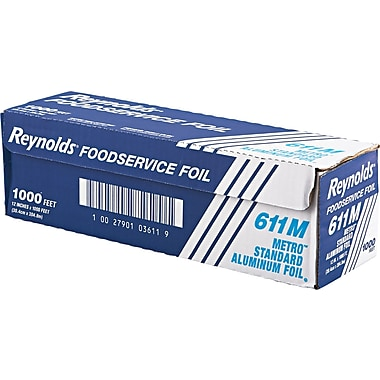 Reynolds Wrap® Metro Aluminum Foil Roll, 1000 ft L x 12in. W