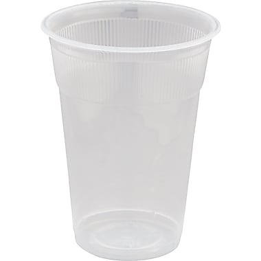 WNA Wrapped Non-logo Plastic Lodging Cup, White, 9 oz