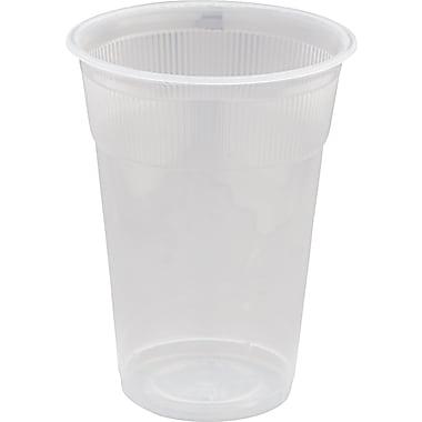 WNA Wrapped Non-logo Plastic Lodging Cup, White, 9 oz