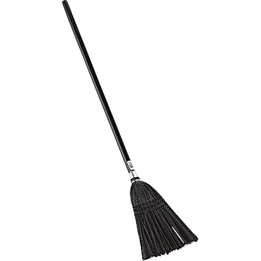 Rubbermaid® Lobby Pro® 2536 Lobby Broom, 37 1/2in.(H), Black, 37 1/2in.(H) x 7in.(L)