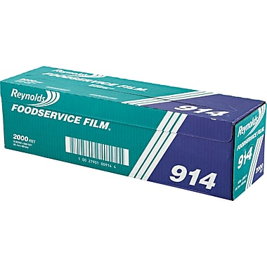 Reynolds Wrap® 914 PVC Film, 2000'(L) x 18in.(W), Clear