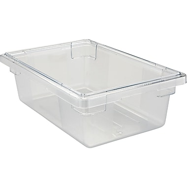 Rubbermaid® Food/Tote Box, 3 1/2 gal, 6in. H x 18in. W x 12in. D