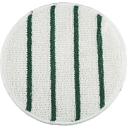 Rubbermaid ® P271 Low Profile Scrub-Strip Carpet Bonnet, White/Green