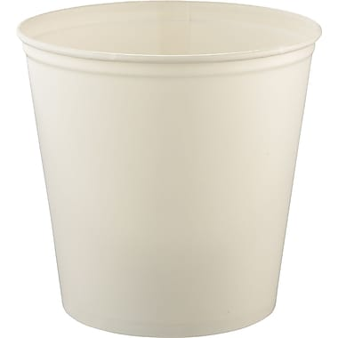 SOLO® Double Wrapped Paper Bucket, 165 oz