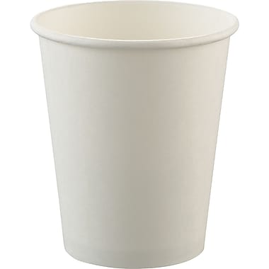 SOLO® Uncoated Cup, White, 8 oz, 1000/Case