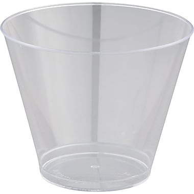 Comet™ Squat Tumbler, Clear, 9 oz