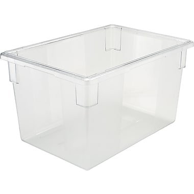 Rubbermaid® Food/Tote Box, 21 1/2 gal, 15in. H x 26in. W x 18in. D
