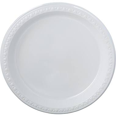 Chinet® Heavy-weight Tableware Plate, 18 3/8in. x 9 3/8in. x 11 1/2in.