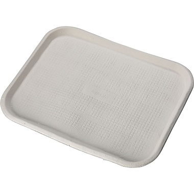 Chinet® Savaday® Molded Fiber Food Tray, 14in. W x 18in. dia