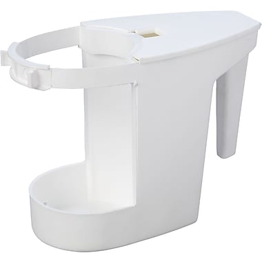 Impact® 100 Super Toilet Bowl Caddy, White