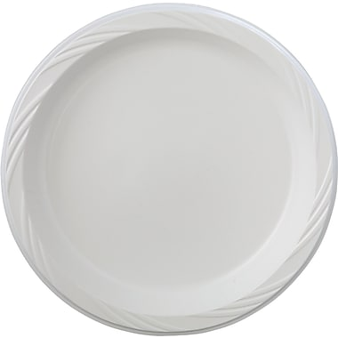 Chinet® Light-weight Tableware Plate, 18 3/8in. x 9 3/8in. x 10 1/4in.