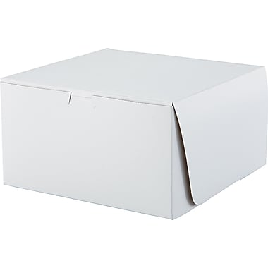 Southern Champion Tray Tuck-top Bakery Box, 5 1/2in. H x 10in. W x 10in. D