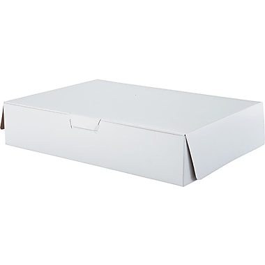 Southern Champion Tray Tuck-top Bakery Box, 4in. H x 19in. W x 14in. D