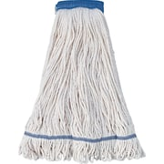 UNISAN® 504 Cotton/Synthetic Blend Super Loop Mop Head, White