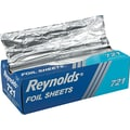 Reynolds Wrap® Pop-up Interfolded Aluminum Foil Sheet, 12in. L x 10 3/4in. W