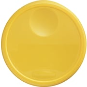 Rubbermaid® 5730 Round Storage Container Lid, 2 3/4(H) x 13 1/2(Dia), Yellow