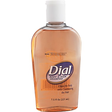 Dial® 04014 Body and Hair Shampoo, 7.5 oz.