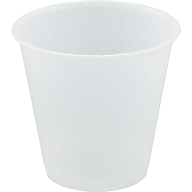SOLO® Plastic Sampling Cup, Translucent, 3 1/2 oz